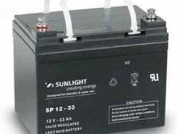 Аккумулятор Sunlight SP12-33, 12Вольт 33Ач