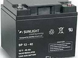 Аккумулятор Sunlight SP12-40, 12Вольт 40Ач.