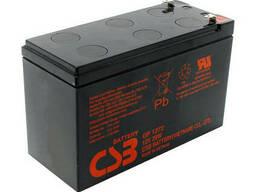 Аккумуляторная батарея CSB GPL1272F2, 12V 7,2Ah (151х65х100мм) 2,63кг Q10