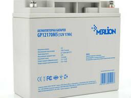Аккумуляторная батарея Merlion AGM GP12170M5 12 V 17Ah ( 180 x 78 x 165 (168)) Q4