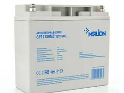 Аккумуляторная батарея Merlion AGM GP1218M5 12 V 18 Ah ( 180 x 78 x 165 (168)) Q4