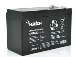 Аккумуляторная батарея Merlion AGM GP1290F2 12 V 9 Ah ( 150 x 65 x 95 (100) ) Black Q10