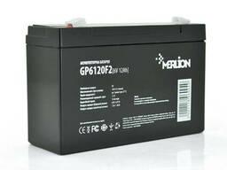 Аккумуляторная батарея Merlion AGM GP612F2 6 V 12Ah ( 150 x 50 x 95 (100) ) Q10