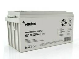 Аккумуляторная батарея Merlion GL12650M6 12 V 65 Ah (350 x 165 x 174) Q1