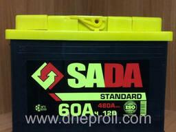 Аккумуляторные батареи SADA в ассортименте