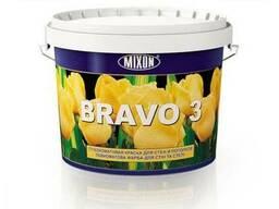 Акрил-латексная интерьерная краска Mixon Bravo-3. 2, 5 л