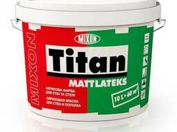 Акрил-латексная краска для стен Mixon Titan Mattlateks, 10 л