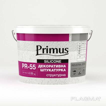 "Акриловая декоративная штукатурка Primus PR-55 (Примус) ""Шуба"" (25 кг)"