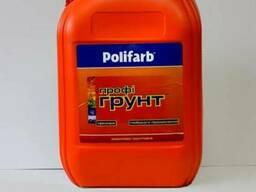 Акриловая грунтовка Профи-Грунт ТМ Polifarb 10л