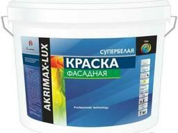 """Акриловая водоэмульсионная фасадная краска """"Akrimax-Lux"""""""