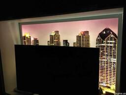 Акриловые потолки со светодиодной подсветкой и с фотопечатью