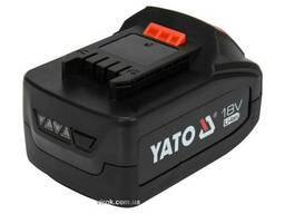 Акумулятор YATO Li-Ion 18 В 4 Агод