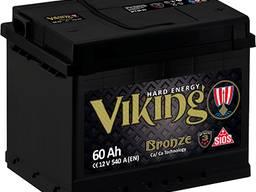 Акумулятор Viking Bronze (Start Eco) 60Ah,74Ah,100Ah,190Ah.