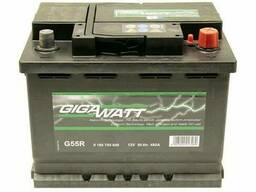 Акумуляторна батарея 56А Gigawatt