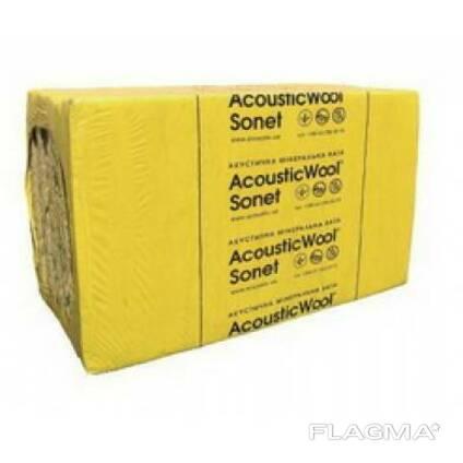 Акустическая минеральная вата AcousticWool Sonet 50. ..