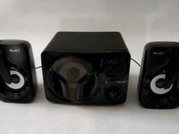 Акустическая система Music DJ (SP-60) + Bluetooth, FM. ..