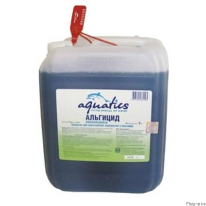 Альгицид жидкий для бассейнов Aquatics.