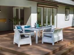 Allibert Corfu Fiesta Set мебель из искусственного ротанга