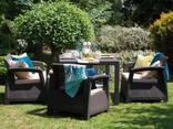 Corfu Fiesta Set мебель из искусственного ротанга - фото 4