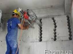 Алмазная резка бетона. Сверление