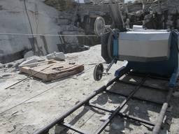 Алмазно-канатная машина для резки натурального камня, бетона