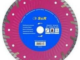 Алмазный диск по армированному бетону S&R 230 мм Supreme