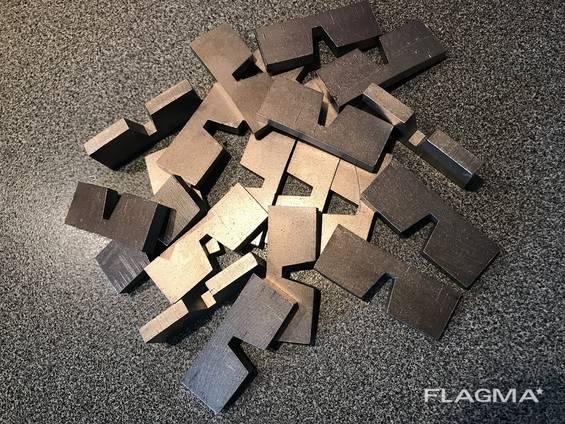 Алмазные сегменты для дисков Ø 800мм для стенорезных машин.