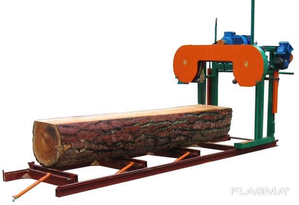 Алтай 1400 Ленточная электрическая пилорама