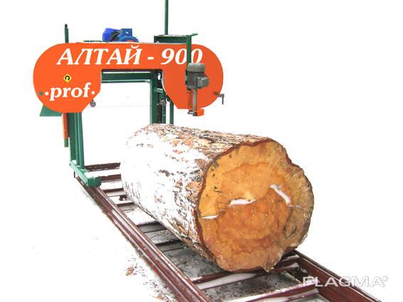 Алтай 900prof Ленточная электрическая пилорама