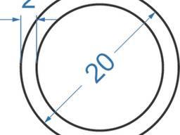Алюмінієва труба кругла ø 20x2 мм б. п.