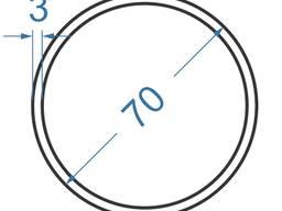Алюмінієва труба кругла ø 63x3 мм