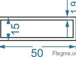 Алюмінієва труба прямокутна 50x15x1. 9, купить, цена