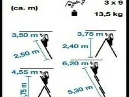 Алюминиевая лестница 3х9 на 6,5м. Драбина, Стремянка. Польша - фото 4