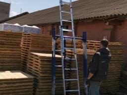 Алюминиевая приставная лестница 7 ступеней с доставкой