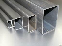 Труба алюминиевая 100х20х2, 100х50х3, 150х50х3, цена