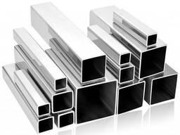 Алюминиевая труба квадратная 40x40x3,5порезка