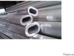 Алюминиевая труба овальная 23.2x13.4x2.1мм купить цена
