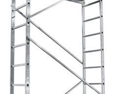 Вышка-тура строительная алюминиевая рабочая высота 5. 0 (м)