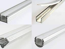 Алюмінієвий світлодіодний профіль 55х60