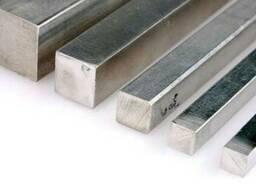 Алюминиевый квадрат, алюминий марок Д16, Д16т, АМГ6, АМГ5