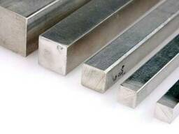 Квадрат алюминиевый АД31т5, АМГ, Д16Т (Пруток квадратный)