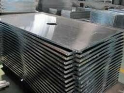 Лист алюминиевый 1 (1000х2000мм) 1050 А Н24