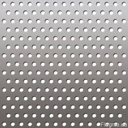 Оцинкованный перфорированный лист 0,75мм, 1мм