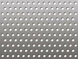 Алюминиевый лист перфорированный
