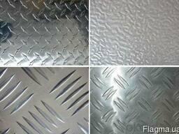 Алюминиевый лист рифленный и простой разных раскроев