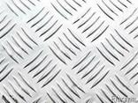 Лист Алюминиевый Рифленый Квинтет 2,5х1500х4000 1050Н24 - фото 1