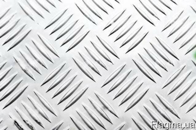 Лист Алюминиевый Рифленый Квинтет 2,5х1500х4000 1050Н24