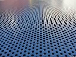 Алюминиевый перфорированный лист