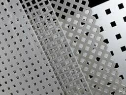 Алюминиевый лист перфорированый Д16