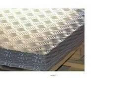 """Алюминиевый лист рифленный """"Дует"""" 1. 5x1250x2500 купить цена"""